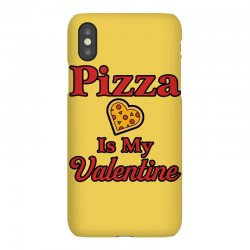 pizza is my valentine for light iPhoneX Case | Artistshot