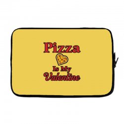 pizza is my valentine for light Laptop sleeve | Artistshot