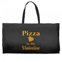 pizza is my valentine Weekender Totes | Artistshot