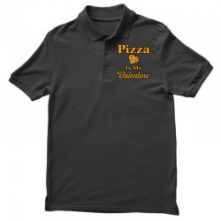 pizza is my valentine Polo Shirt | Artistshot