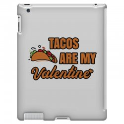 tacos are my valentine iPad 3 and 4 Case | Artistshot