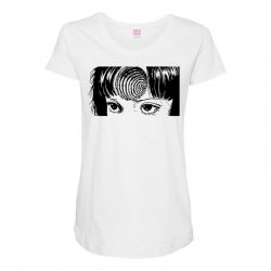 uzumaki for light Maternity Scoop Neck T-shirt | Artistshot