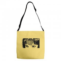 uzumaki for light Adjustable Strap Totes | Artistshot