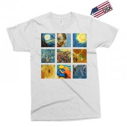 van gogh picture Exclusive T-shirt | Artistshot