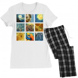 van gogh picture Women's Pajamas Set | Artistshot