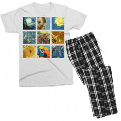 van gogh picture Men's T-shirt Pajama Set | Artistshot