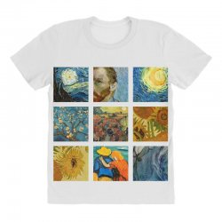 van gogh picture All Over Women's T-shirt | Artistshot