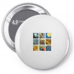 van gogh picture Pin-back button | Artistshot