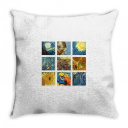 van gogh picture Throw Pillow | Artistshot
