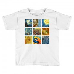 van gogh picture Toddler T-shirt | Artistshot