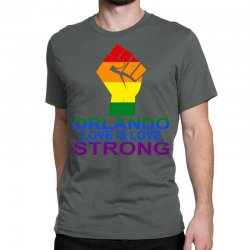 Love Is Love, Orlando Strong Classic T-shirt | Artistshot