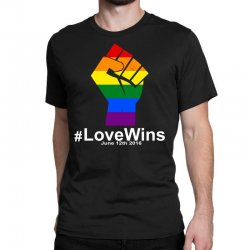 Love Wins 12th 2016 - Orlando Strong Classic T-shirt | Artistshot