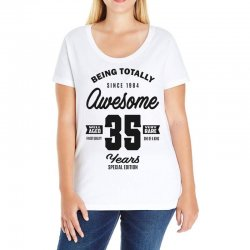 Awesome 35 Years Ladies Curvy T-Shirt | Artistshot
