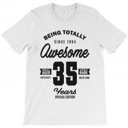 Awesome 35 Years T-Shirt | Artistshot