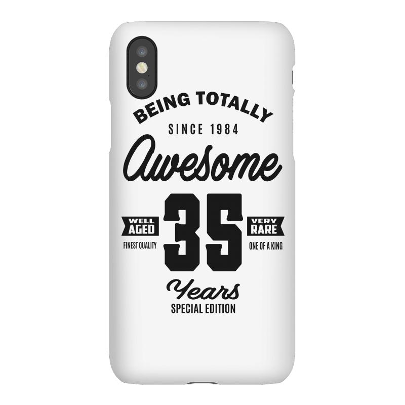 Awesome 35 Years Iphonex Case | Artistshot