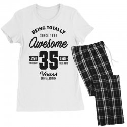 Awesome 35 Years Women's Pajamas Set | Artistshot
