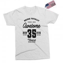 Awesome 35 Years Exclusive T-shirt | Artistshot