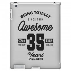 Awesome 35 Years iPad 3 and 4 Case | Artistshot