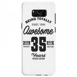 Awesome 35 Years Samsung Galaxy S8 Case | Artistshot