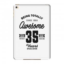 Awesome 35 Years iPad Mini 4 Case | Artistshot