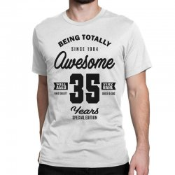 Awesome 35 Years Classic T-shirt | Artistshot