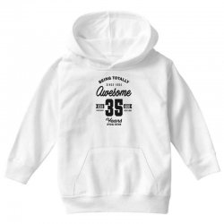 Awesome 35 Years Youth Hoodie | Artistshot