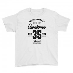 Awesome 35 Years Youth Tee | Artistshot