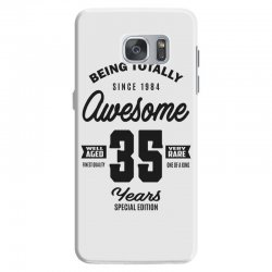 Awesome 35 Years Samsung Galaxy S7 Case | Artistshot