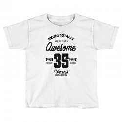 Awesome 35 Years Toddler T-shirt | Artistshot