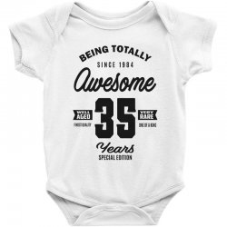 Awesome 35 Years Baby Bodysuit | Artistshot