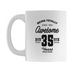 Awesome 35 Years Mug | Artistshot