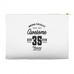 Awesome 35 Years Accessory Pouches | Artistshot