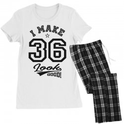 I Make 36 Look Good Women's Pajamas Set | Artistshot
