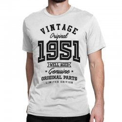 Gift for Born in 1951 Classic T-shirt | Artistshot