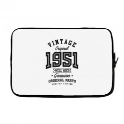 Gift for Born in 1951 Laptop sleeve | Artistshot