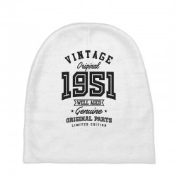 Gift for Born in 1951 Baby Beanies | Artistshot