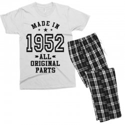 Gift for Made in 1952 Men's T-shirt Pajama Set | Artistshot