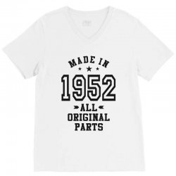 Gift for Made in 1952 V-Neck Tee | Artistshot