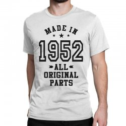 Gift for Made in 1952 Classic T-shirt | Artistshot