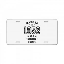 Gift for Made in 1952 License Plate | Artistshot