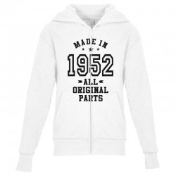 Gift for Made in 1952 Youth Zipper Hoodie | Artistshot