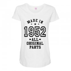 Gift for Made in 1952 Maternity Scoop Neck T-shirt | Artistshot