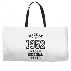 Gift for Made in 1952 Weekender Totes | Artistshot
