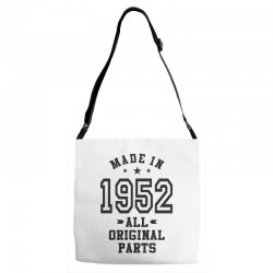 Gift for Made in 1952 Adjustable Strap Totes | Artistshot