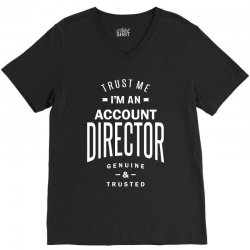 Account Director V-Neck Tee | Artistshot