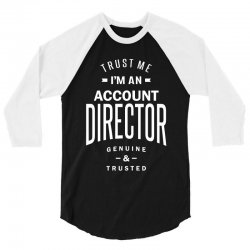 Account Director 3/4 Sleeve Shirt | Artistshot