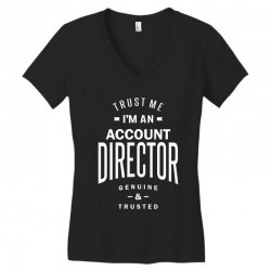 Account Director Women's V-Neck T-Shirt | Artistshot