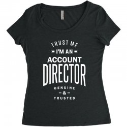 Account Director Women's Triblend Scoop T-shirt | Artistshot