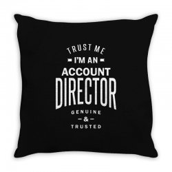 Account Director Throw Pillow | Artistshot