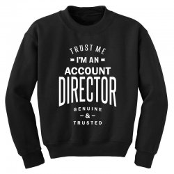 Account Director Youth Sweatshirt | Artistshot